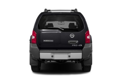 Rear Profile  2015 Nissan Xterra