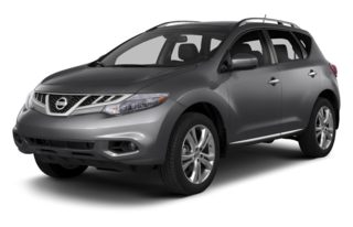 3/4 Front Glamour 2013 Nissan Murano