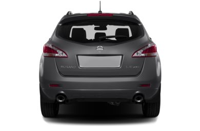 Rear Profile  2013 Nissan Murano