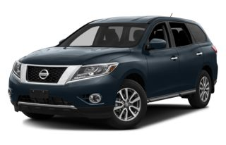 3/4 Front Glamour 2013 Nissan Pathfinder