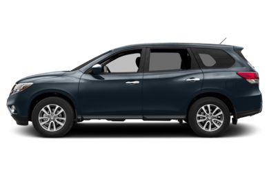 90 Degree Profile 2014 Nissan Pathfinder