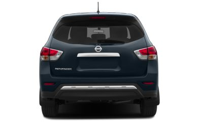 Rear Profile  2013 Nissan Pathfinder
