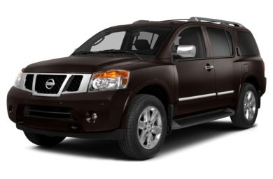 3/4 Front Glamour 2013 Nissan Armada