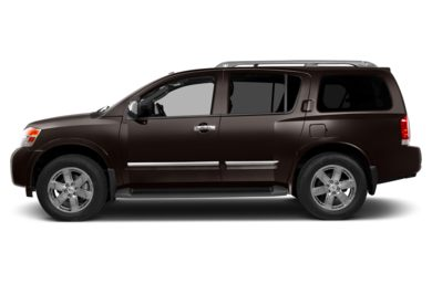 90 Degree Profile 2013 Nissan Armada