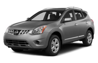 3/4 Front Glamour 2013 Nissan Rogue