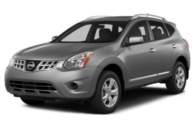 3/4 Front Glamour 2014 Nissan Rogue Select