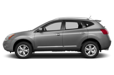 90 Degree Profile 2013 Nissan Rogue