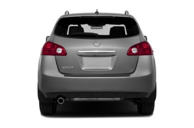 Rear Profile  2013 Nissan Rogue