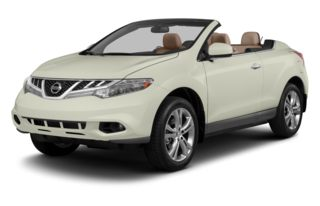 3/4 Front Glamour 2013 Nissan Murano CrossCabriolet