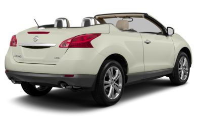 3/4 Rear Glamour  2013 Nissan Murano CrossCabriolet