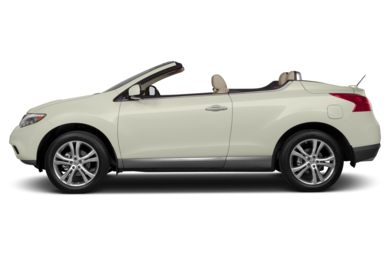90 Degree Profile 2013 Nissan Murano CrossCabriolet