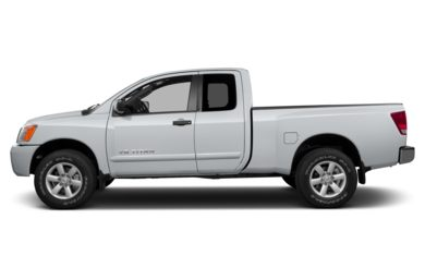 90 Degree Profile 2014 Nissan Titan