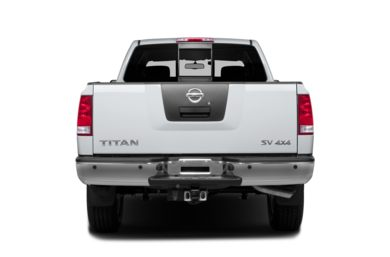 Rear Profile  2013 Nissan Titan