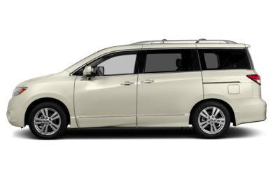 90 Degree Profile 2013 Nissan Quest