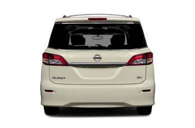 Rear Profile  2013 Nissan Quest
