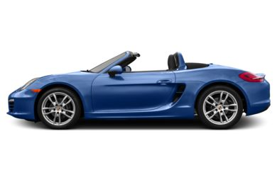 90 Degree Profile 2015 Porsche Boxster