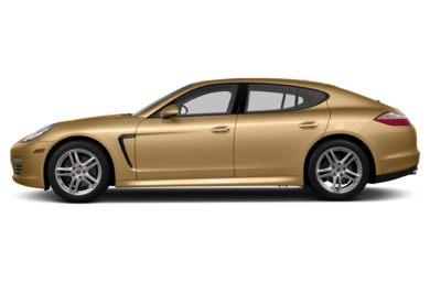 90 Degree Profile 2013 Porsche Panamera