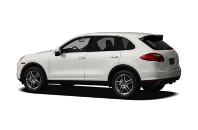 Surround 3/4 Rear - Drivers Side  2013 Porsche Cayenne