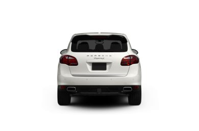 Surround Rear Profile 2013 Porsche Cayenne