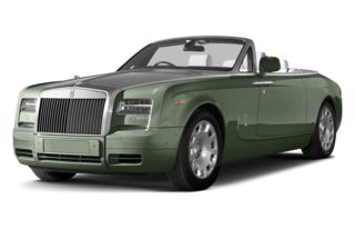 3/4 Front Glamour 2013 Rolls-Royce Phantom Drophead Coupe