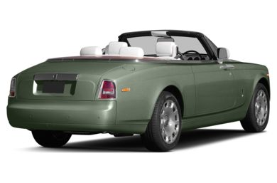 3/4 Rear Glamour  2014 Rolls-Royce Phantom Drophead Coupe