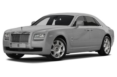 3/4 Front Glamour 2013 Rolls-Royce Ghost