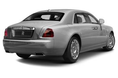 3/4 Rear Glamour  2013 Rolls-Royce Ghost