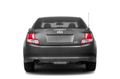 Rear Profile  2013 Scion tC