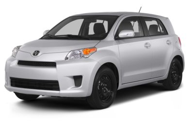 3/4 Front Glamour 2013 Scion xD