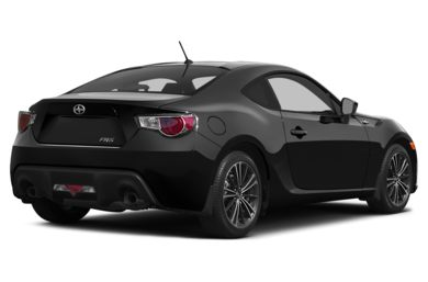 3/4 Rear Glamour  2014 Scion FR-S