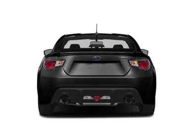 Rear Profile  2014 Subaru BRZ