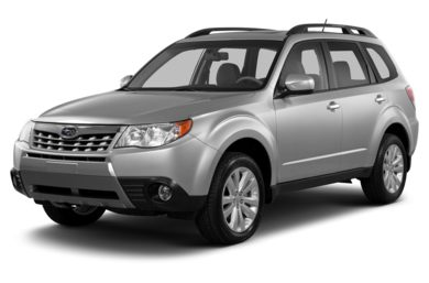 3/4 Front Glamour 2013 Subaru Forester