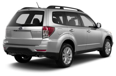3/4 Rear Glamour  2013 Subaru Forester