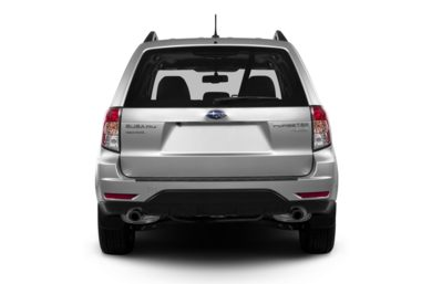 Rear Profile  2013 Subaru Forester