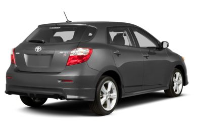 3/4 Rear Glamour  2013 Toyota Matrix
