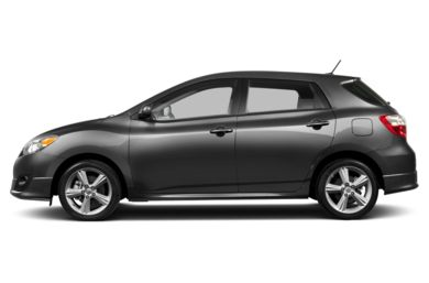 90 Degree Profile 2013 Toyota Matrix