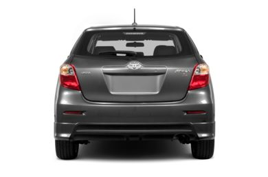 Rear Profile  2013 Toyota Matrix