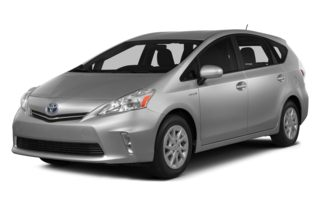 3/4 Front Glamour 2013 Toyota Prius v