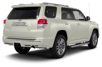 3/4 Rear Glamour  2013 Toyota 4Runner
