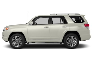 90 Degree Profile 2013 Toyota 4Runner