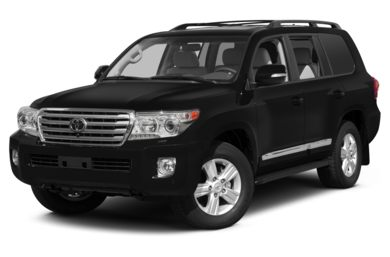 3/4 Front Glamour 2013 Toyota Land Cruiser