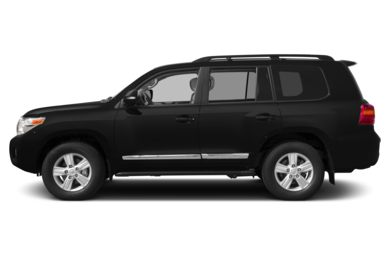 90 Degree Profile 2013 Toyota Land Cruiser