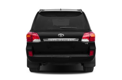 Rear Profile  2013 Toyota Land Cruiser
