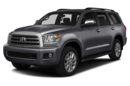 3/4 Front Glamour 2015 Toyota Sequoia