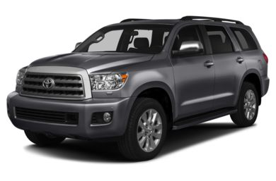 3/4 Front Glamour 2013 Toyota Sequoia