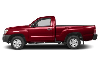 90 Degree Profile 2013 Toyota Tacoma