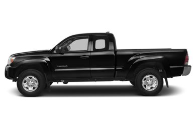 90 Degree Profile 2015 Toyota Tacoma
