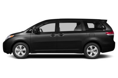 90 Degree Profile 2013 Toyota Sienna