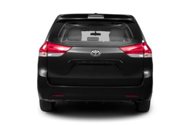 Rear Profile  2013 Toyota Sienna