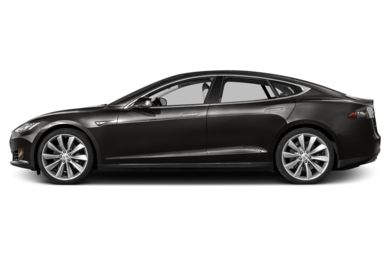 90 Degree Profile 2014 Tesla Model S